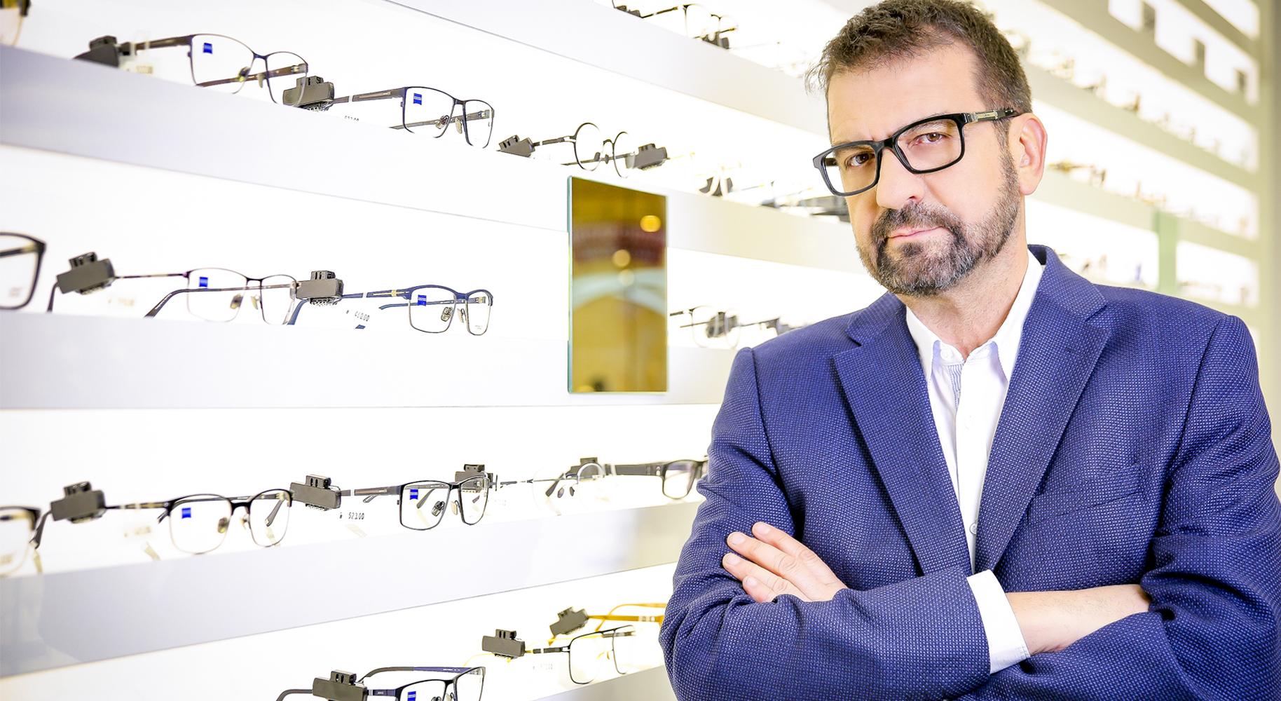 Ники Кънчев – рекламно лице на ZEISS VISION CENTER